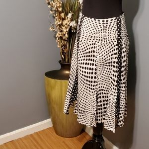 Jennifer & Grace Polka Dot skirt size 14